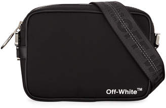 Off-White Off White Men's Canvas Crossbody Bag