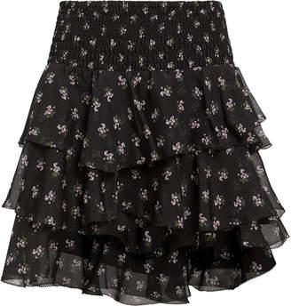 e45c452f7f Intermix Keelan Floral Mini Skirt
