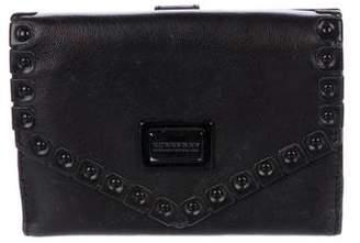 Burberry Embellished Leather Wallet