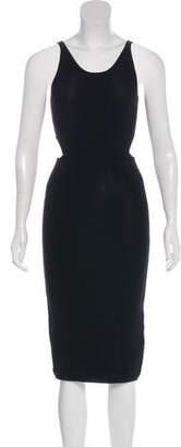 Jonathan Simkhai Cutout-Accented Midi Dress