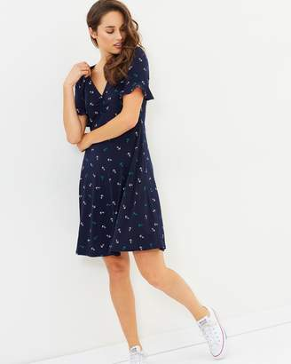 Oasis Anchor Tea Dress