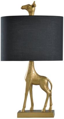 Stylecraft Style Craft 27In Golden Giraffe Table Lamp
