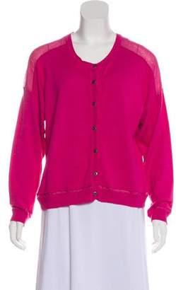 Robert Rodriguez Knit Button-Up Cardigan