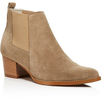 Kenneth Cole Russie Suede Chelsea Booties - 100% Bloomingdale's Exclusive $170 thestylecure.com