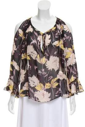 Ella Moss Long Sleeve Floral Blouse w/ Tags