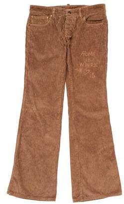 DSQUARED2 Flat Front Corduroy Pants