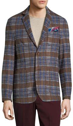 Co Atp & Notch Patch Chest Sportcoat