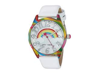 Betsey Johnson Up In The Clouds Rainbow Watch - 37239074RNB961