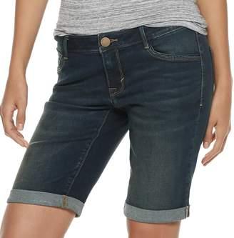 41e008ab45 Apt. 9 Women's Cuffed Bermuda Jean Shorts