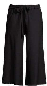 Eileen Fisher Wide Crop Self-Tie Pants