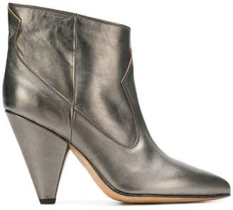 Buttero mettalic ankle boots