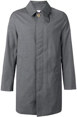 MACKINTOSH Grey Storm System Wool Short Coat GM-002BS