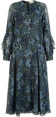 Ophelia Beulah Floral Ruffle Dress