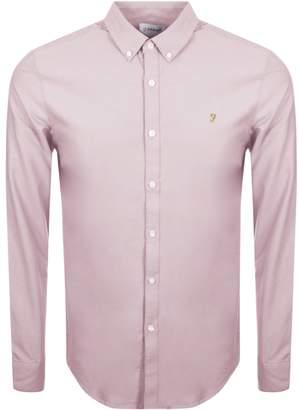 Farah Brewer Shirt Pink