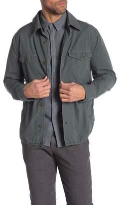 Save Khaki Solid Long Sleeve Regular Fit Shirt Jacket