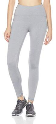 7Goals Women's High-Waisted Reflective Side Stripe Legging