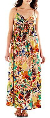 i jeans by Buffalo Crossed-Front Maxi Dress