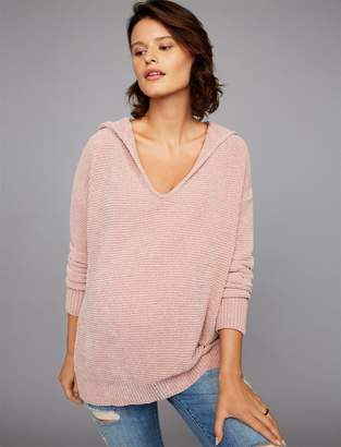 Splendid Pea Collection Hooded Maternity Pull Over