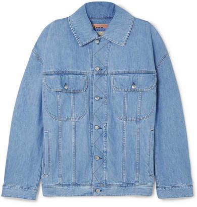 Oversized Denim Jacket - Light denim