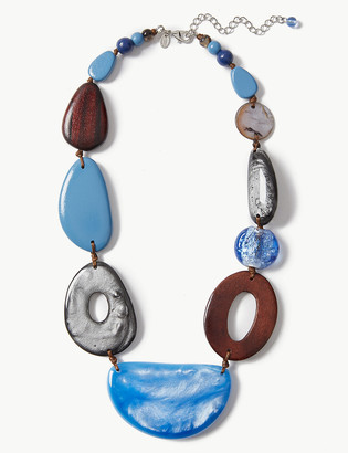 Marks and Spencer Marbled Chunky Necklace