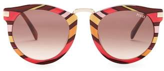 Emilio Pucci Women's 51mm Rounded Sunglasses