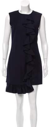 J.W.Anderson Ruffled Wool Dress