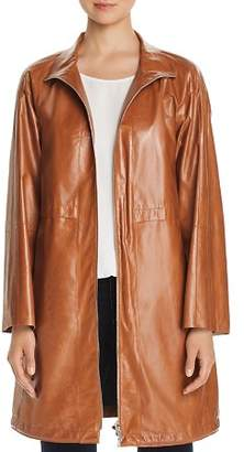 Lafayette 148 New York Minerva Leather Anorak Jacket
