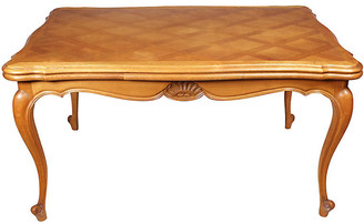 One Kings Lane Vintage 1950s Louis-XV-Style Dining Table - Blink Home Vintique