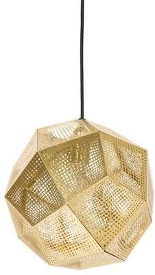 Tom Dixon Brass Etch Pendant Light