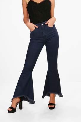 boohoo Petite Extreme Flare Jean