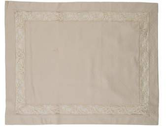 Embroidered Pillow Sham