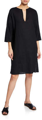 Vince Seamed Popover Dress