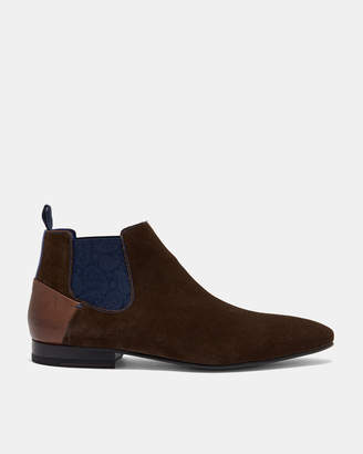 Ted Baker LOWPEZS Suede Chelsea boots