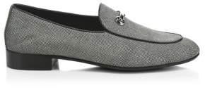Giuseppe Zanotti Spilar Jacquard Leather Loafers