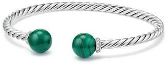 David Yurman Solari Bracelet with Diamonds & Malachite