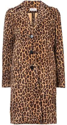 Beau Souci Rock leopard print coat
