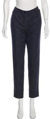 Akris Mid-Rise Straight-Leg Jeans
