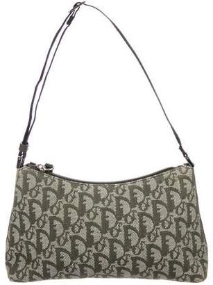 Christian Dior Diorissimo Canvas Shoulder Bag
