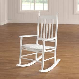 August Grove Dahlonega Slat Rocking Chair Frame