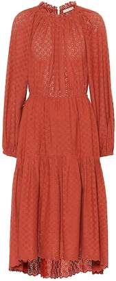 Ulla Johnson Ambre cotton eyelet lace dress