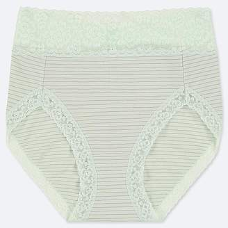 Uniqlo Women's High-rise Stripe Briefs