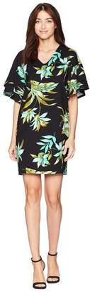 Lauren Ralph Lauren Print Ponte Shift Dress Women's Dress