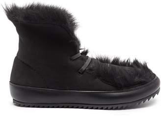 Pedro Garcia 'Jadine' lambskin shearling chukka boots