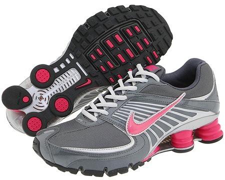 Nike - Nike Shox Turbo+ 8 (Dark Grey/Vivid Pink-Metallic Silver-Neutral Grey)