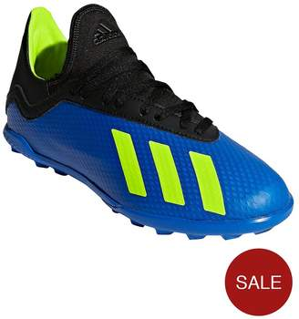 adidas Junior X 18.3 Astro Turf Football Boot