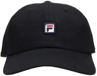 Fila Black Cotton Hat