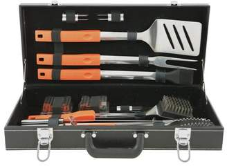 Mr. Bar-B-Q Stainless-Steel Grill Tool Set In Attache Case, 20-Piece