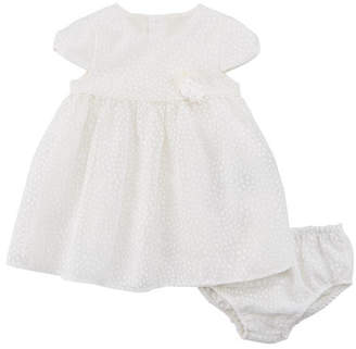Mayoral Dotted Tulle Dress w/ Matching Bloomers, Size 2-12 Months