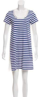 Sacai Luck Striped Mini Dress