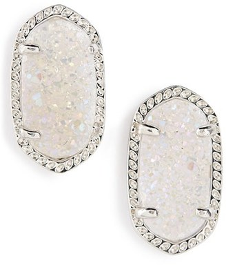 Women's Kendra Scott Ellie Oval Stone Stud Earrings $65 thestylecure.com